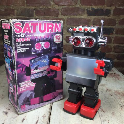 Jouet Robot Saturn the 13'' Giant Walking