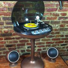 Table tournante Electrohome Saturn Vintage