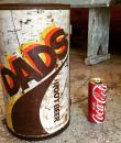 BBQ vintage cannette de Root Beer Dad's